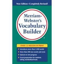 Amazon.com: Merriam-Webster's Vocabulary Builder, Newest Edition ...